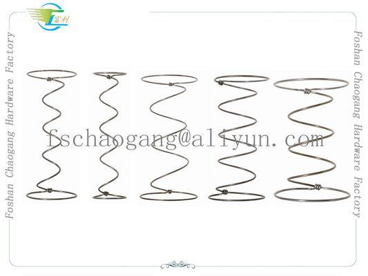 China Steel Wire Mattress Spring Coil Hardware , Bonnell Upholstery Spring Units supplier