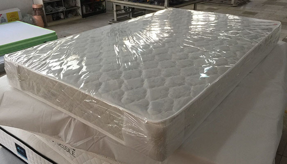 China Twin Size Bonnell Sprung Memory Foam Mattress For Hotel / Bedroom / Dormitory supplier