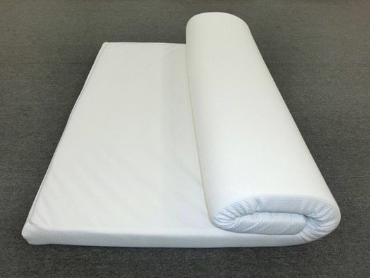 China Washable 100% Nature Latex Pillow Top Mattress Topper Twin Size Removable supplier