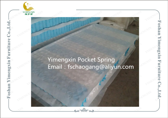 China High Temperature Treatment Pocket Spring Unit For Queen Size Mattress supplier