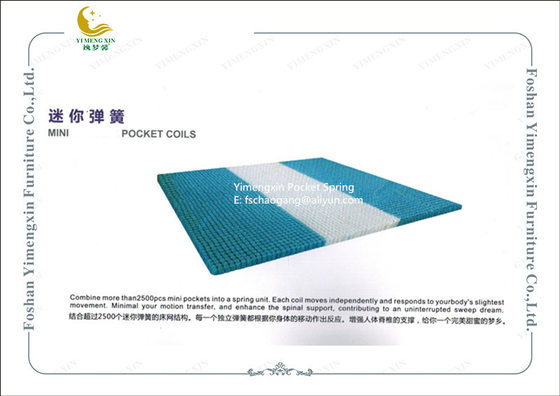China King Size Mattress Pocket Spring System Individual Design Rust Prevention supplier