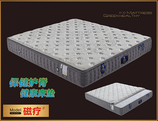 China Roll Up Visco Elastic Memory Foam Mattress With Detachable Zipper Cover supplier