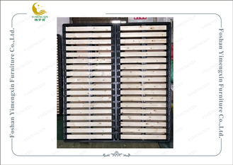 China Natural Wood Color Durable Metal Slatted Bed Base For Soft Bedhead Bed supplier