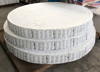 China Round Mattress Spring Unit For Theme Hotels / Bonnell Pocket Continue Spirngs supplier