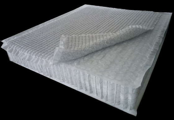 China Super-elastic pocket spring mattress unit with additional mini-spring combination cap. supplier