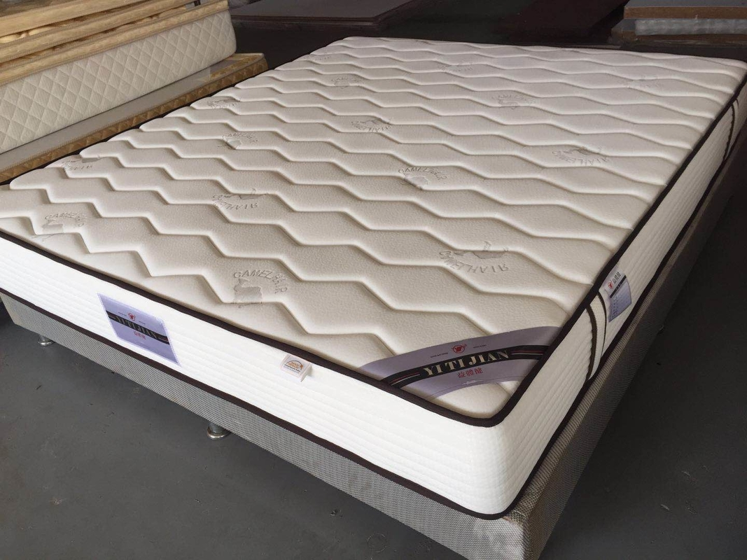 Bamboo Memory Foam Roll Up Bed Mattress King Size For Home Hotel