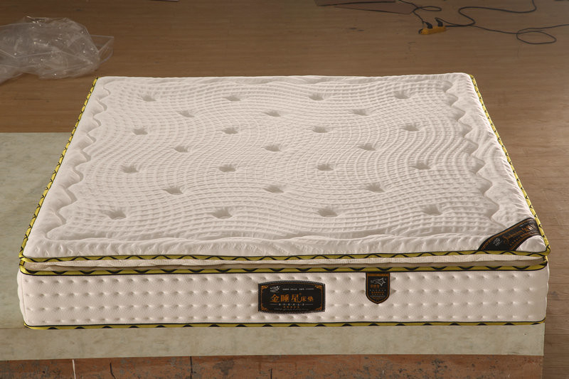 Single / Double Size Bonnell Spring Mattress Feel Soft High Resilience
