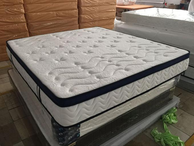 Modern King Size Hotel Bed Mattress Individual Pocket Spring Mattress Noiseless