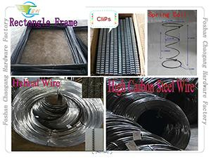 High Carbon Spring Steel Wire For Mattress / Sofa / Furniture Coil Making