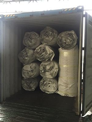 Furniture Wrapped Pocket Spring Unit With Non - Woven Fabric Bottom