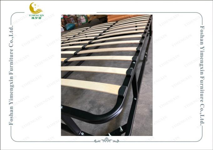 Double Deck Iron Bed Frame With King Or Queen Size , Knock Down Bed Frame