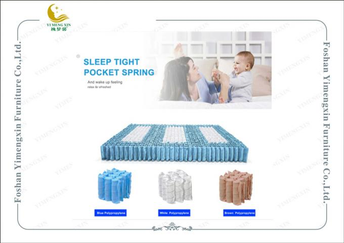 Mini Pocket Spring 1.2mm Wire 10 Turns Individual Spring Use for Hotel Mattress Mini Pocket Coils Units Mattress
