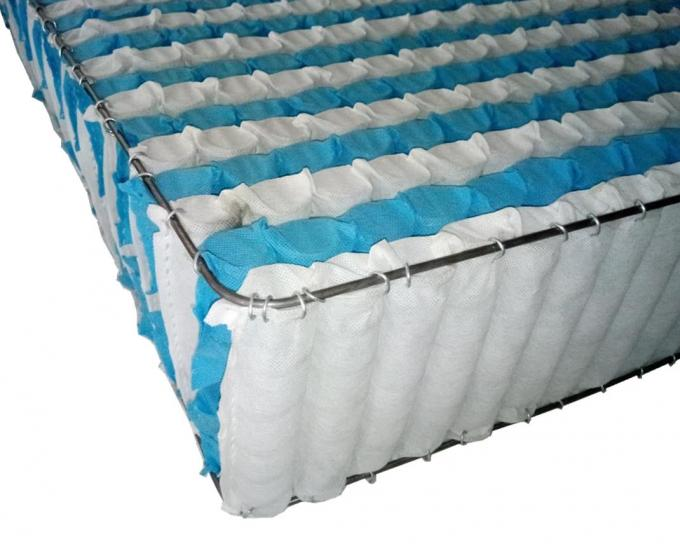 Middle suspended, independent pocket spring mattress inner cushion