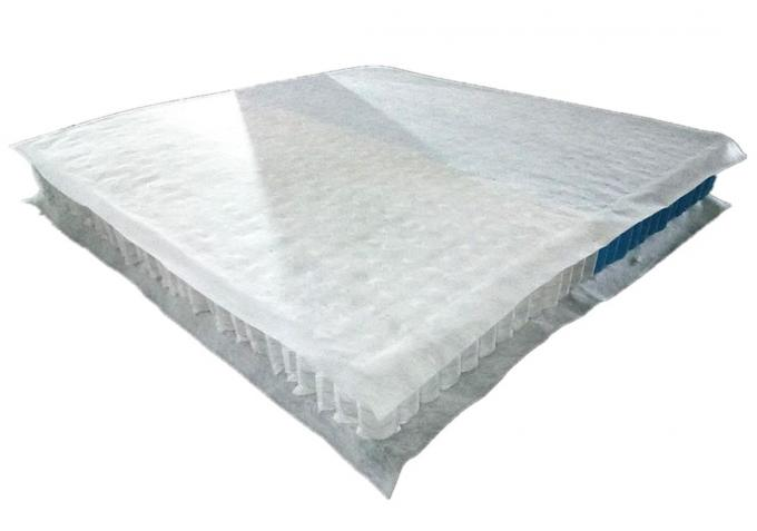 Independent pocket spring mattress liner with soft spring and hard spring combination
