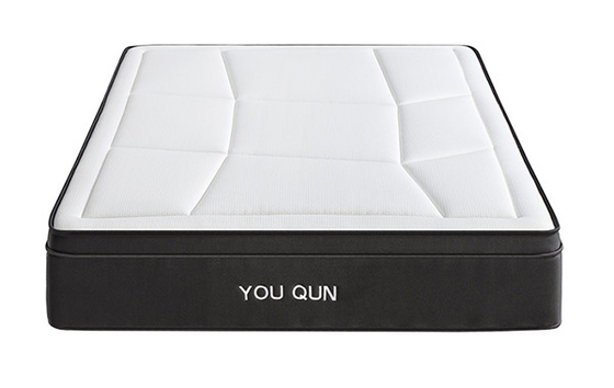 China 5 Star Hotel Pocket Spring Mattress With Memory Foam Pillow Top Multi Size Available distributor