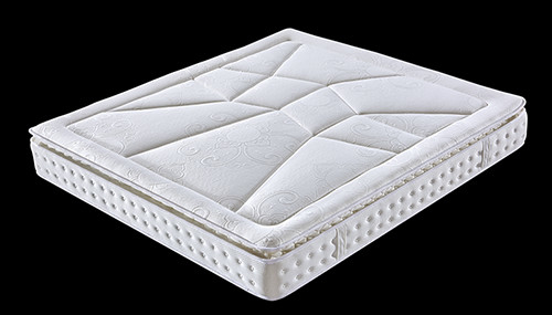 China Elegant Pillow Top Mattress Topper King Size / Queen Size For Hotel And Home Use factory
