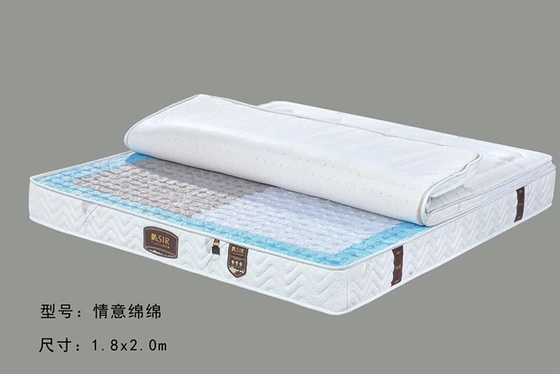 China Soft Pocket Spring Hotel Quality Mattress , Luxury Hotel Collection Mattress distributor