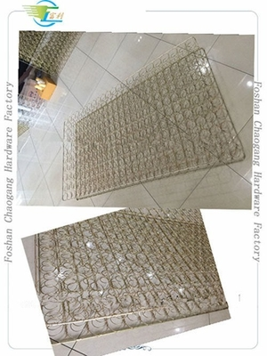 China Gold Plated Mesh Mattress Bonnell Spring Unit Full / Queen / King Size Available distributor