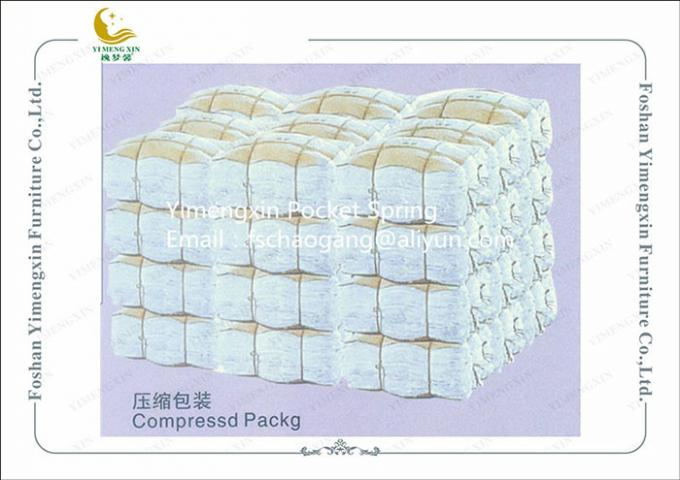 Strong Sofa Seat Springs Coil With Non Woven Fabric , Inner Pocket Spring Unit