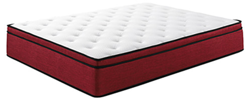 Natural Latex Pocket Coil Mattress , Individual Pocket Sprung Beds ISO SGS Certificate