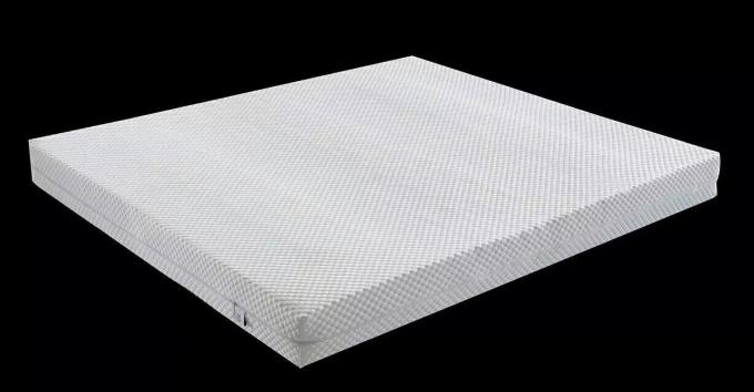 Eco Friendly Natural Latex Mattress Topper Comfortable Compressed Packing