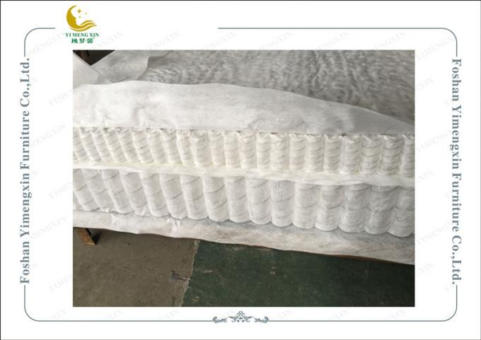 Double Deck Mattress Pocket Spirng Unit Soft On Top And Hard Bottom Multifunctional For Mattress Filler